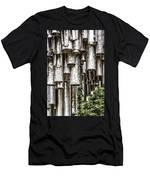 Sibelius Pipe Monument - Helsinki Finland Men's T-Shirt (Athletic Fit)