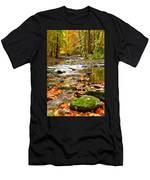 Autumn Stream Men's T-Shirt (Athletic Fit)