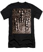 Skulls And Bones In The Catacombs Of Paris France Men's T-Shirt (Athletic Fit)