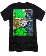 A Curious Cat Men's T-Shirt (Athletic Fit)