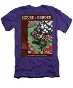 A House And Garden Cover Of Dachshunds With A Hat Men's T-Shirt (Athletic Fit)