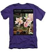 A House And Garden Cover Of Rhododendrons Men's T-Shirt (Athletic Fit)