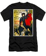 A Man May Be Down . . .   1919 Men's T-Shirt (Athletic Fit)