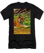 A Real Detroit Tiger Men's T-Shirt (Athletic Fit)
