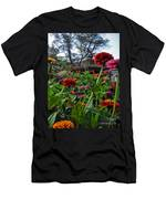 A Sea Of Zinnias 02 Men's T-Shirt (Athletic Fit)