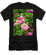 A Sea Of Zinnias 08 Men's T-Shirt (Athletic Fit)