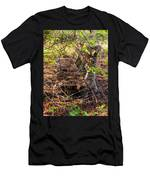 Abandoned Bench Men's T-Shirt (Athletic Fit)
