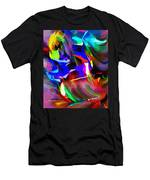 Abstract 082713d Men's T-Shirt (Athletic Fit)