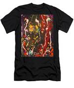 Abstract 13 - Life On The Ocean Floor Men's T-Shirt (Athletic Fit)