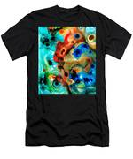 Abstract 4 - Abstract Art By Sharon Cummings Men's T-Shirt (Athletic Fit)