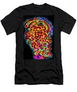 Abstract  Brain Men's T-Shirt (Athletic Fit)