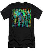 Abstract Color Falls Men's T-Shirt (Athletic Fit)