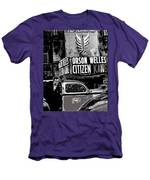 Actor Co-writer Director Orson Welles Premier  Citizen Kane Palace Theater New York  May 1 1941-2014 Men's T-Shirt (Athletic Fit)