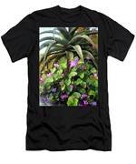 Agave And African Violets Men's T-Shirt (Athletic Fit)