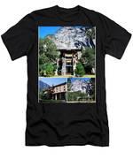 Ahwahnee Hotel In Yosemite National Park Men's T-Shirt (Athletic Fit)