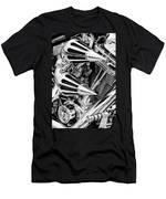 All Chrome Chopper Men's T-Shirt (Athletic Fit)