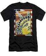 American Statue Of Liberty Mosaic  Men's T-Shirt (Athletic Fit)