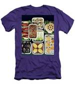 An Assortment Of Food In Containers Men's T-Shirt (Athletic Fit)