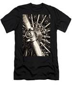 Antique Plane Engine Men's T-Shirt (Athletic Fit)
