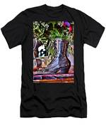 Antique Victorian Boots At The Boardwalk Plaza Hotel - Rehoboth Beach Delaware Men's T-Shirt (Athletic Fit)