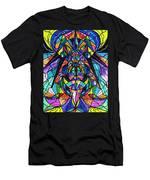 Arcturian Awakening Grid Men's T-Shirt (Athletic Fit)