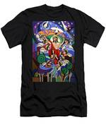 Ascending To The Father  Men's T-Shirt (Athletic Fit)