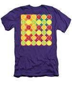 Assorted Citrus Pattern Men's T-Shirt (Athletic Fit)