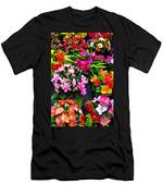 At The Flower Market  Men's T-Shirt (Athletic Fit)