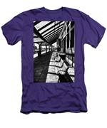 At The Station Men's T-Shirt (Athletic Fit)