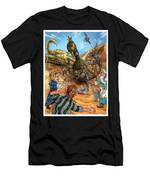 Attacked By Scorpions Men's T-Shirt (Athletic Fit)