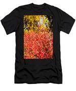 Autumn Flames Men's T-Shirt (Athletic Fit)