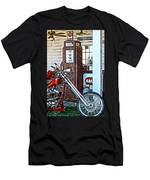 Aztec And The Gas Pump Men's T-Shirt (Athletic Fit)