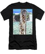 Barnacles And Rust Men's T-Shirt (Athletic Fit)