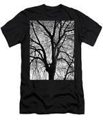 Barren 2 Bw Men's T-Shirt (Athletic Fit)