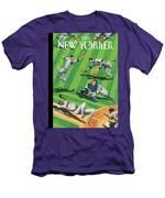 Baseball Ballet Men's T-Shirt (Athletic Fit)
