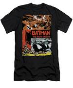 Batman - Old Movie Poster Men's T-Shirt (Athletic Fit)