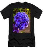 Beautiful Blue Hydrangea Men's T-Shirt (Athletic Fit)