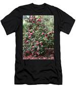 Beautiful Camellia Bush Men's T-Shirt (Athletic Fit)