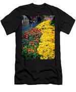 Beautiful Flower Garden Bellagio Las Vegas Men's T-Shirt (Athletic Fit)