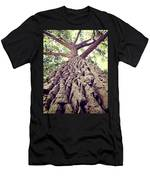 Big Tree Bark Men's T-Shirt (Athletic Fit)