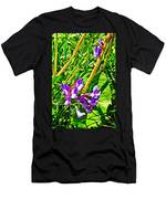 Bird Vetch On Bow River Trail In Banff National Park-alberta  Men's T-Shirt (Athletic Fit)