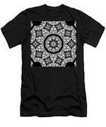 Black And White Medallion 10 Men's T-Shirt (Athletic Fit)