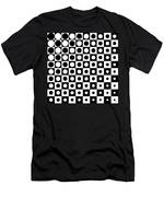 Black And White, No. 1 Men's T-Shirt (Athletic Fit)