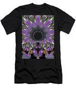 Black Magic Wand Fractal Men's T-Shirt (Athletic Fit)