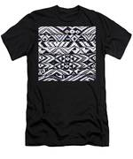 Black Thai Fabric 02 Men's T-Shirt (Athletic Fit)