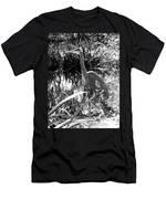 Blue Heron 7bw Men's T-Shirt (Athletic Fit)