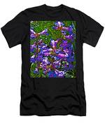 Blue Penstemon On Bald Mountain In Ketchum-idaho Men's T-Shirt (Athletic Fit)