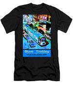 Blue Trolley Portland Men's T-Shirt (Athletic Fit)