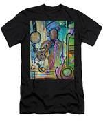 Blues Jazz Club Series Men's T-Shirt (Athletic Fit)