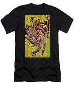 Bold And Colorful Phone Case Artwork Designs By Carole Spandau Cbs Art The Golden Dragon 114  Men's T-Shirt (Athletic Fit)